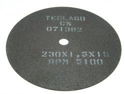Disco de corte para metalografia - 230mmX1,5mmX19mm-TCMCS