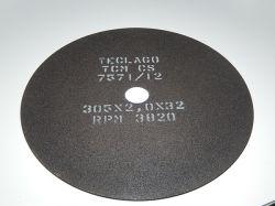 Disco de corte para metalografia - 305mmX2,0mmX32mm-TCMCS