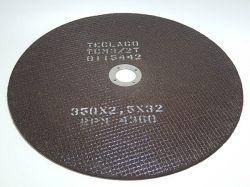 Disco de corte para metalografia - 350mmX2,5mmX32mm-TCM3 (35-50HRC)