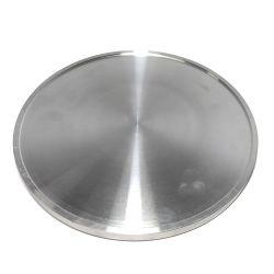 Prato de Ø200mm em alumínio para politriz metalográfica Teclago