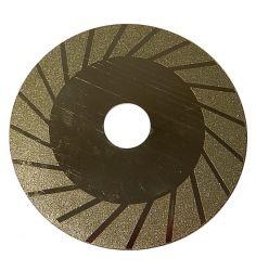 Disco diamantado por brasagem à vácuo 100mm X 0,9mm X 20mm