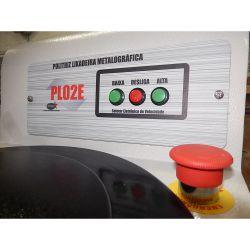 Politriz metalográfica de 2 velocidades PL02E